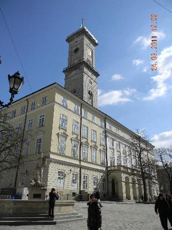 Lviv, Ukraine : la torre