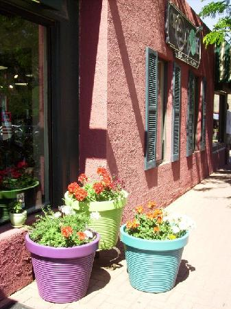 Outside a Shop in Downtown Sedona