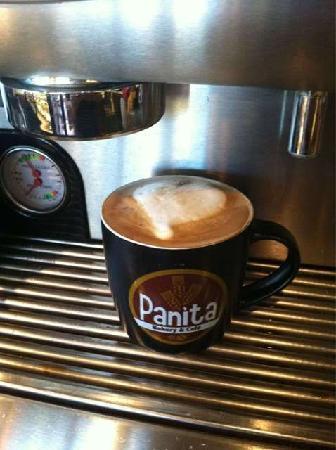 Panita Bakery: muy buen café