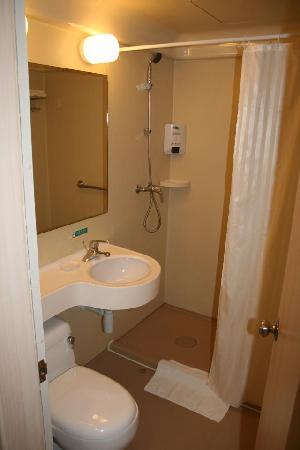 Bestay Hotel Express Shanghai Huaihai Donglu: WC/Dusche