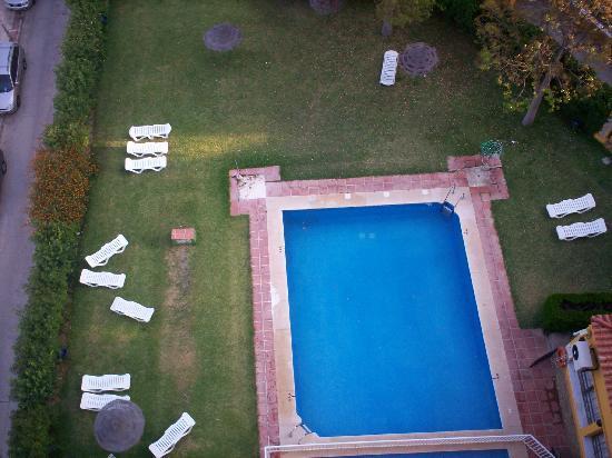 El Greco: pool area