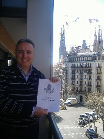 Apartaments Marina: La Sagrada Familia sullo sfondo
