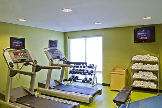 SpringHill Suites Columbia Downtown/The Vista: Fitness Room