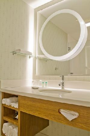 SpringHill Suites Columbia Downtown: Shower Room Vanity