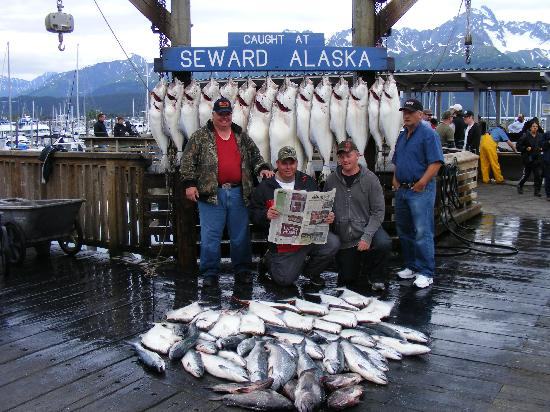 halibut picture of crackerjack sportfishing charters