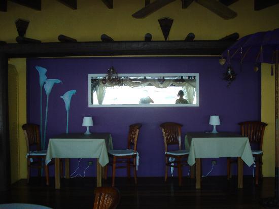 Hostal La Savina: Zona ristorante