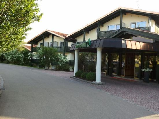Sporthotel Tannenhof: Empfang