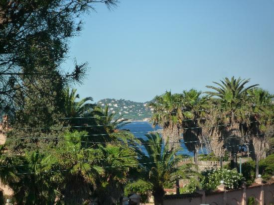 Hôtel la Quiétude : Vue sur le golfe de St Tropez
