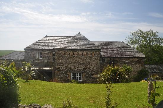 Boslinney Barn: First view of Boslinney