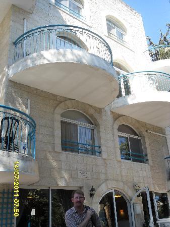 Eden Jerusalem Hotel: frontage of Eden Hotel Jerusalem