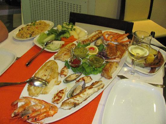 Marisqueira O Barqueiro: fish platter