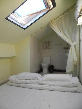 The Room Attic Skylight With Bathroom Picture Of