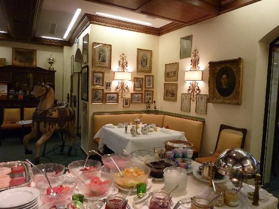 Romantik Hotel Goldener Karpfen: Frühstücksraum