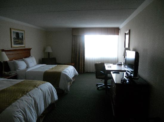 DoubleTree by Hilton Hotel Madison: Double Queen room