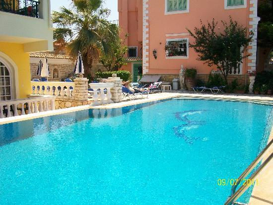 Pool Picture Of Andreas Apartments Kassiopi Tripadvisor
