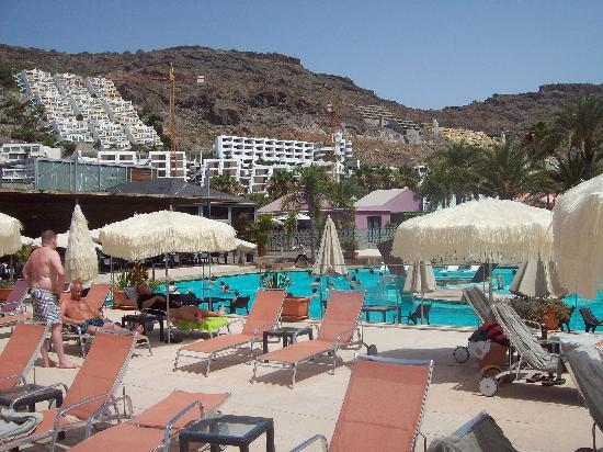Playa de Cura, Spanje: aqua aerobics in the main pool