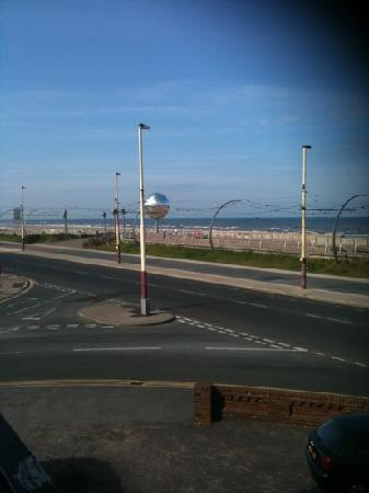 The Headlands: view of prom from hotel