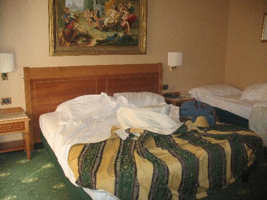 Hotel Colonna: la camera  al momento del check out