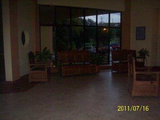 Parador El Faro: Lobby