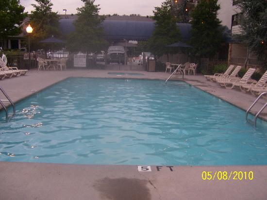BEST WESTERN Plaza Inn : best pool is in the back...