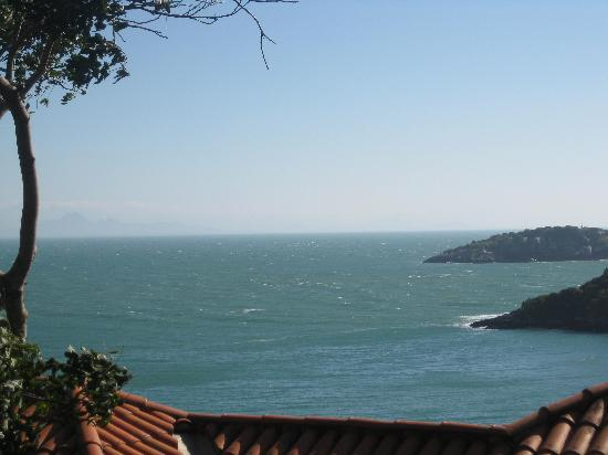 Hotel Ville La Plage: excelente vista al mar
