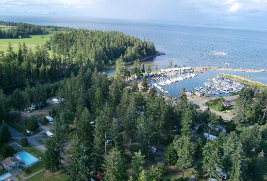 Pacific Playgrounds International RV Park, Cottages, Marina: View North East