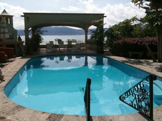 Villa del Angel Bed and Breakfast : A wonderful place to swim and then enjoy the sunsets