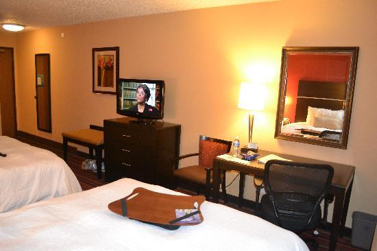 Hampton Inn Loveland: 2 Queen Bed Room
