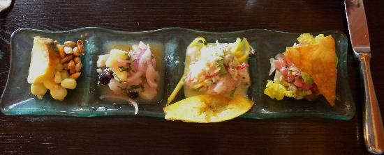 Fresca : Ceviche Three Ways