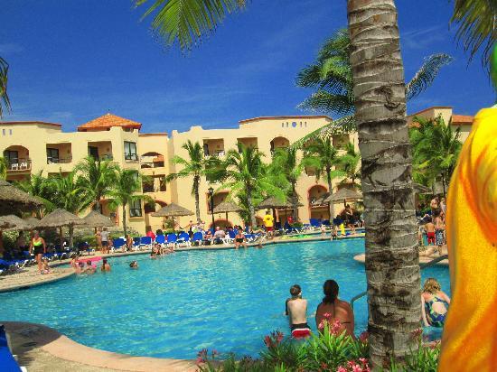 Sandos Playacar Beach Resort Another Pool Ruina Maya
