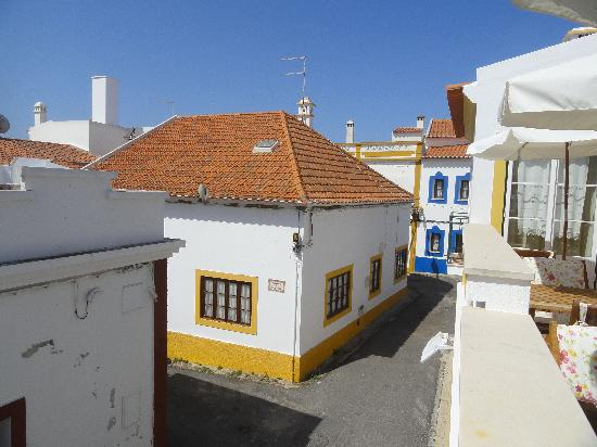 Casa do Adro: View from our shared balcony.