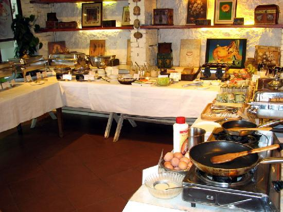 Rosewood Cafe: Breakfast buffet
