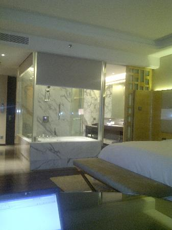 Room with a great bathroom and amazing shower picture of for Bathroom interior designers in chandigarh