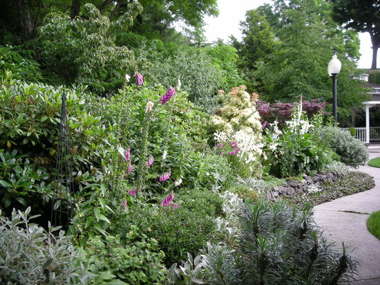 Bishop Victorian Hotel: The garden