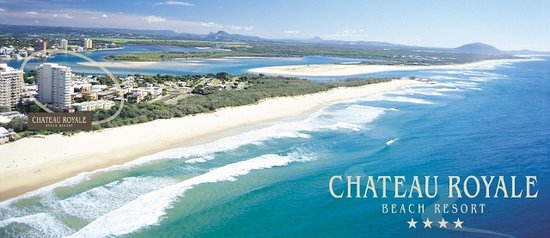 Perfectly located Chateau Royale Beach Resort