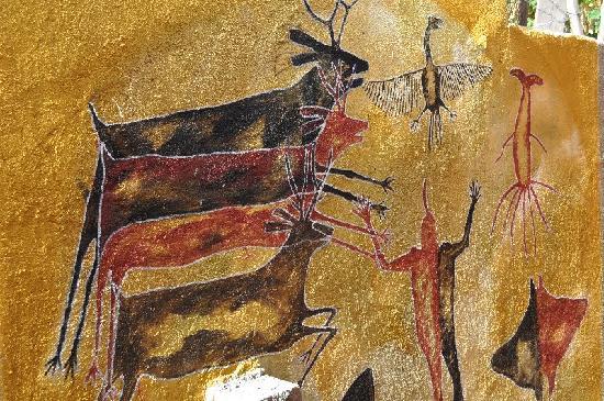 El Tiburon Casitas: cave painting