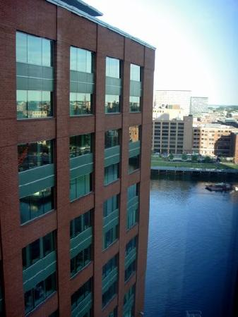 InterContinental Boston: View from room 1250