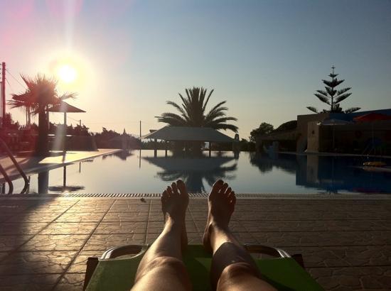 Faros Villa: tramonto a Faros