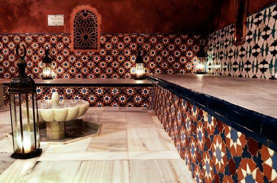 Hammam Al Andalus Granada: Sala de reposo