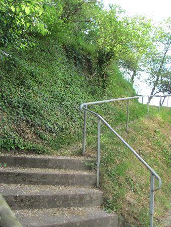 Burgruine Sponheim: steps towards