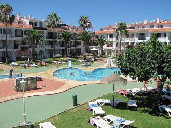 Habitat Playa Romana Village : mas piscinas