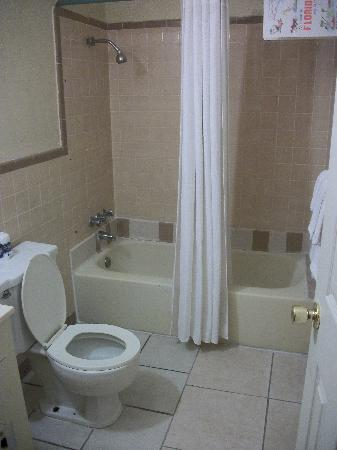 Budget Motel Titusville: Bathroom