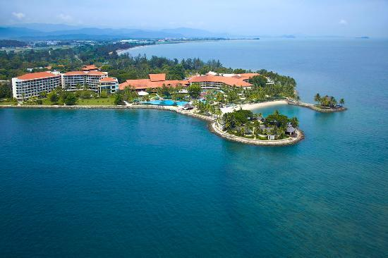 Shangri-La's Tanjung Aru Resort & Spa: Overview of the resort