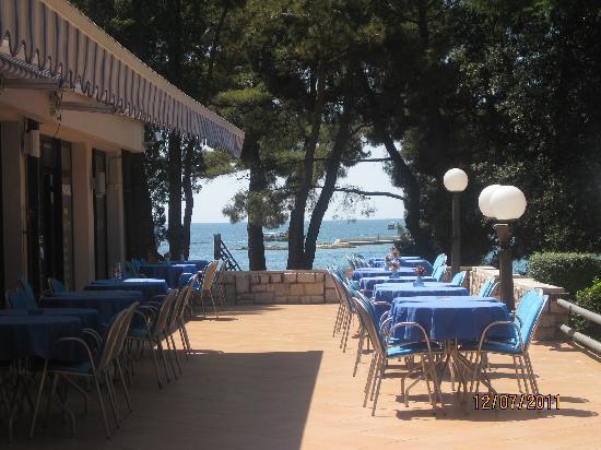 Hostin Hotel: Hotel terrace