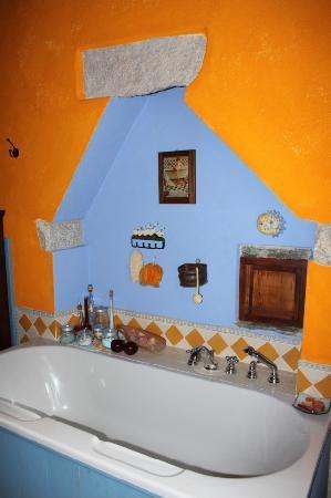 B&B Melizio: la stanza da bagno, molto carina !