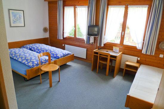 Hotel Edelweiss: 3er-Zimmer