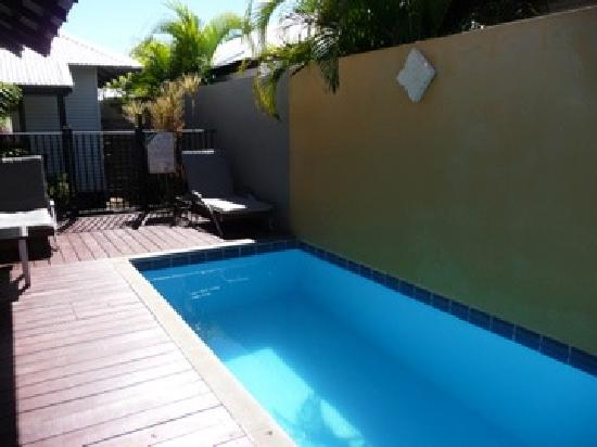 The Pearle of Cable Beach: The plunge pool