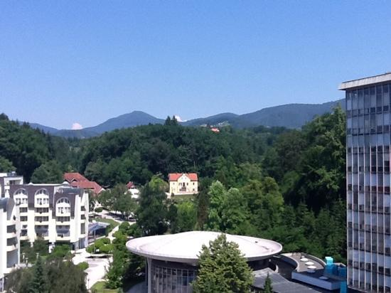 Grand Hotel Donat: view from balcony