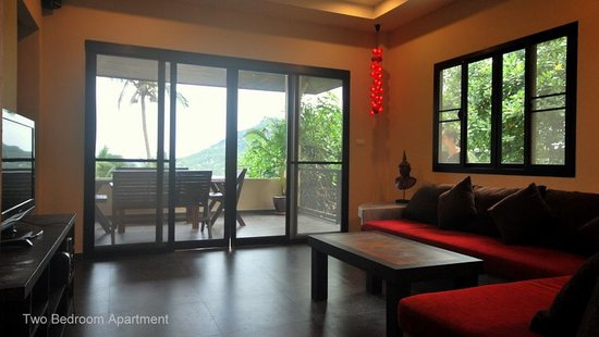 Koh Tao Heights Exclusive Apartments: Apartment Living Area