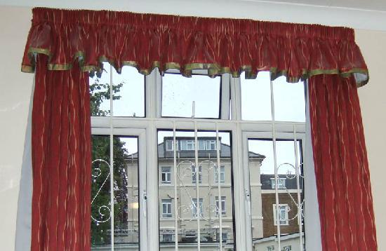 Leigham Court Hotel: view through room window